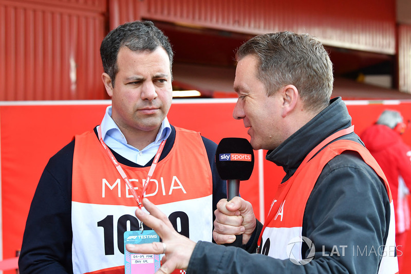 Ted Kravitz, Sky TV and Craig Slater, Sky TV