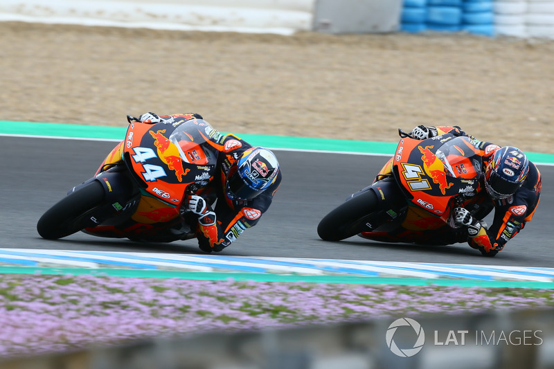Miguel Oliveira and Brad Binder, Red Bull KTM Ajo