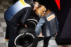 Pirelli team members at work
