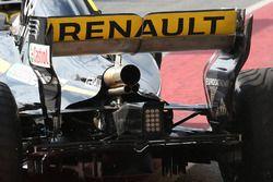 Renault Sport F1 Team RS18, dettaglio dell'ala posteriore