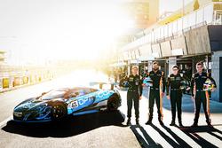#47 YNA Autosport McLaren 650S GT3: Scott McLaughlin, Fraser Ross, Andrew Watson, Alexander West