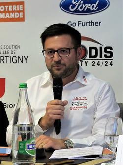 Cédric Borboën, directeur général du RIV