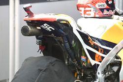 Marca de neumático de la moto de Marc Márquez, Repsol Honda Team