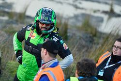 Marshals and Yazeed Al Rajhi, Yazeed Racing Ford Fiesta RS WRC