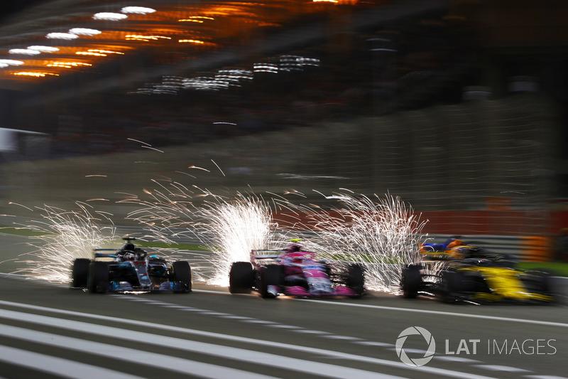 Festival d'étincelles à Bahreïn
