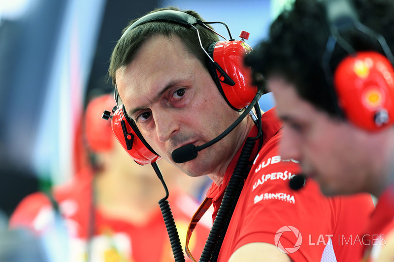 Riccardo Adami, Ferrari Race Engineer