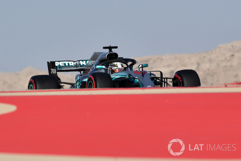 Lewis Hamilton, Mercedes-AMG F1 W09 EQ Power+
