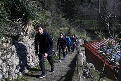 Philipp Eng, Bruno Spengler, Augusto Farfus e Marco Wittmann, fanno escursionismo