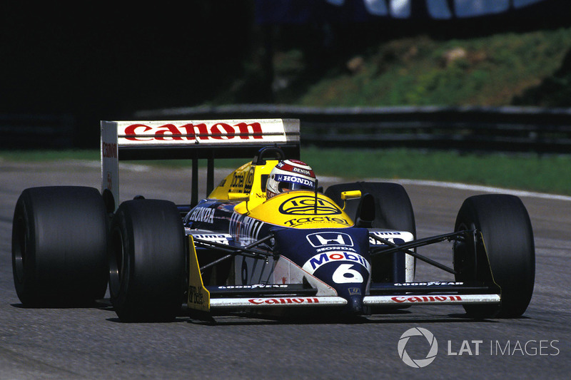 Nelson Piquet, Williams Honda FW11B