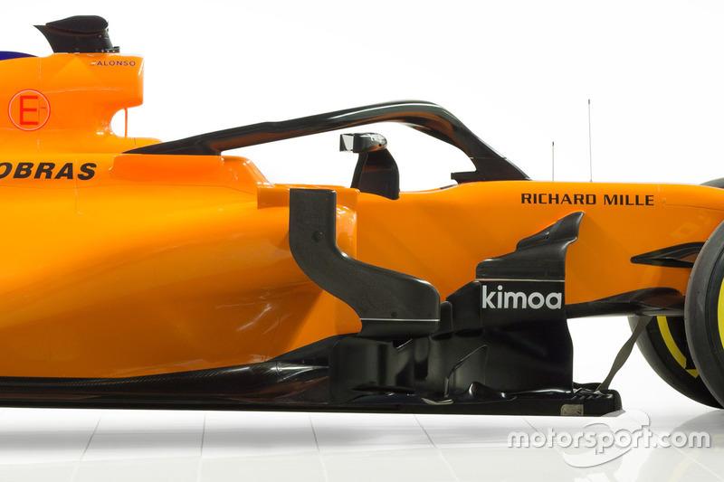 McLaren MCL33 halo detail