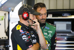 Paul Menard, Wood Brothers Racing, Ford Fusion Menards / Quaker State e il crew chief Greg Erwin