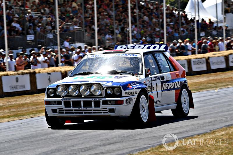 Lancia Integrale John Saunders