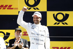 Podium: Race winner Gary Paffett, Mercedes-AMG Team HWA
