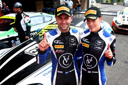 Pole position #75 Optimum Motorsport Aston Martin V12 Vantage GT3: Flick Haigh, Jonny Adam