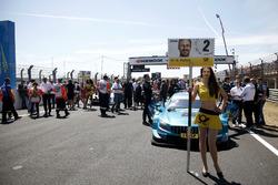 La chica de la parrilla de Gary Paffett, Mercedes-AMG Team HWA