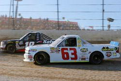 Kyle Strickler, MB Motorsports, Chevrolet Silverado and Noah Gragson, Kyle Busch Motorsports, Toyota Tundra Safelite AutoGlass