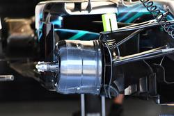 Ступица переднего колеса Mercedes AMG F1 W09