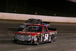Chris Windom, DGR-Crosley, Toyota Tundra Baldwin Brothers / CROSLEY BRANDS and Logan Seavey, Kyle Busch Motorsports, Toyota Tundra Mobil 1