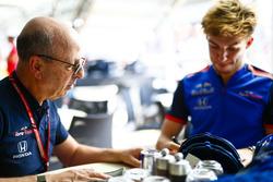 Eric Silbermann et Pierre Gasly, Toro Rosso