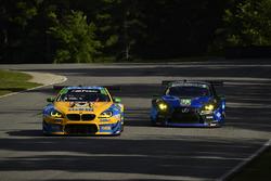 #96 Turner Motorsport BMW M6 GT3, GTD:, #14 3GT Racing Lexus RCF GT3, GTD: Dominik Baumann, Kyle Marcelli