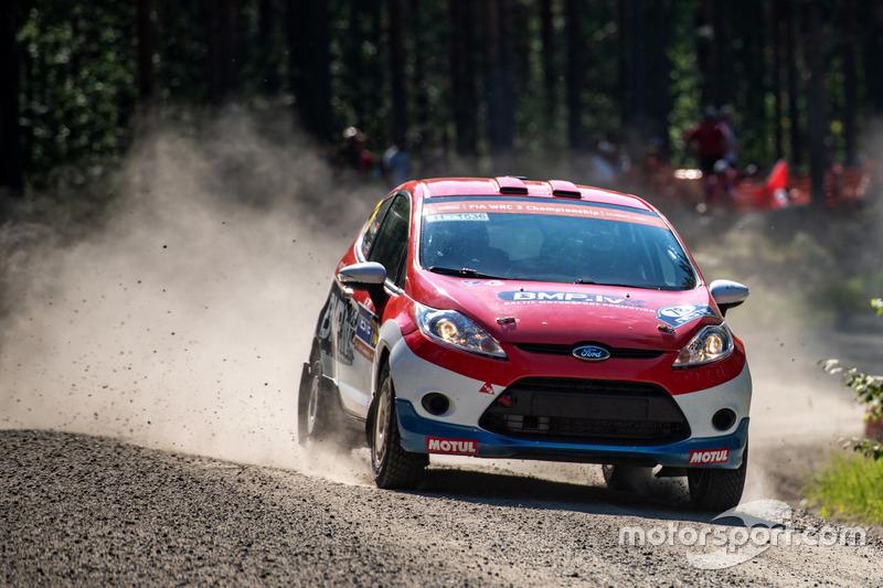 Sanjay Takale (WRC3, Rally Finland)