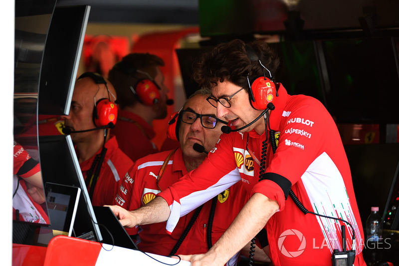 Mattia Binotto, Ferrari Chief Technical Officer