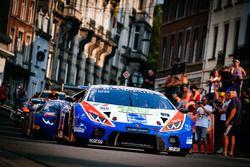 #12 Ombra Racing Lamborghini Huracan GT3: Alex Frassinetti, Andrea Rizzoli, Romain Monti, Kang Ling