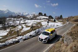 Simone Rivia, Niccolo Faettini, Suzuki Swift R1, Versilia Rally Team
