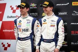 Podium GT4: second place #42 Century Motorsport BMW M4 GT4: Ben Green, Ben Tuck