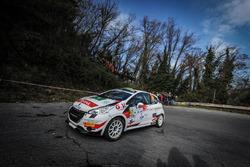 Lorenzo Coppe, Giacomo Poloni, Peugeot 208 R2B