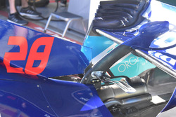 Toro Rosso STR13 rear bodywork detail
