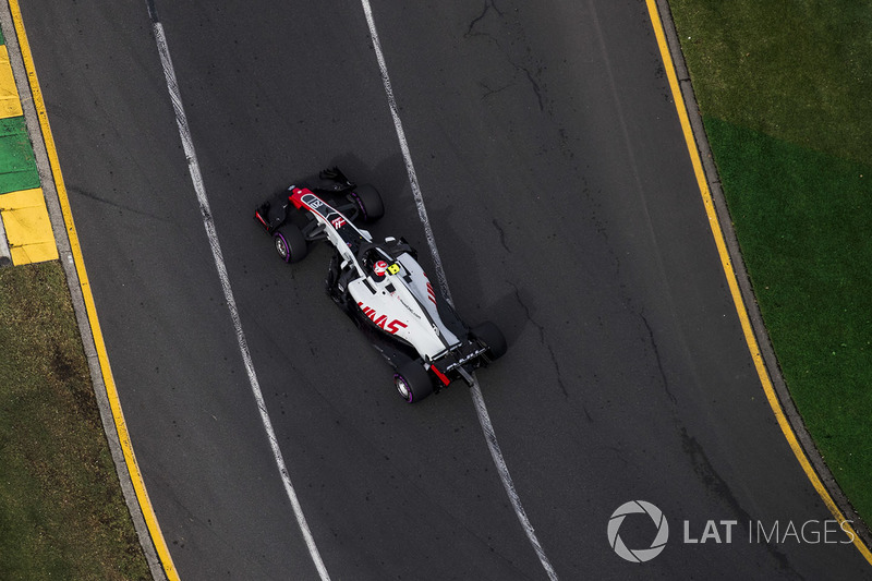 Ausfall: Kevin Magnussen, Haas VF-18