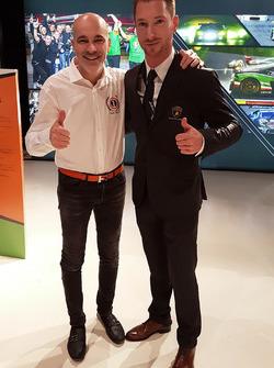 Armando Donazzan, Orange1 Racing eigenaar en coureur Mirko Bortolotti