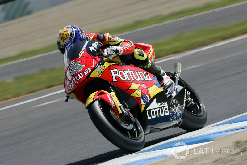 2005: 250cc (Moto2), 5º - Jorge Lorenzo - Fortuna Honda