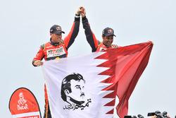 Nasser Al-Attiyah, Mathieu Baumel, Toyota Gazoo Racing