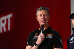 BTCC champion driver Matt Neal on the Autosport Stage
