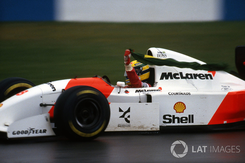 1993 Avrupa GP: McLaren MP4/8