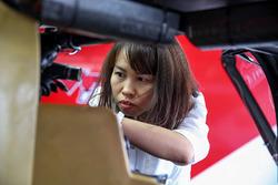 Viper Niza Racing team member at work