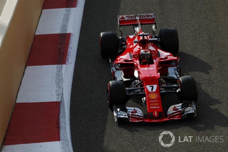 Formel 1 Bildergalerie: Die schönsten Fotos vom F1-Test in Abu Dhabi