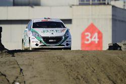 Matteo de Sabbata, Peugeot 208 R2B