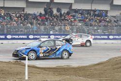 Luciano Cobbe, Ford Focus WRC e Alessandro Bruschetta, Citroen C4 WRC