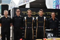 Mark Preston, Jean Eric Vergne, Techeetah, Andre Lotterer, Techeetah