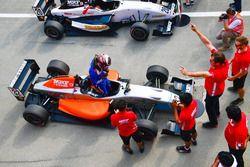 Pemenang Race 4, Presley Martono di Parc Ferme