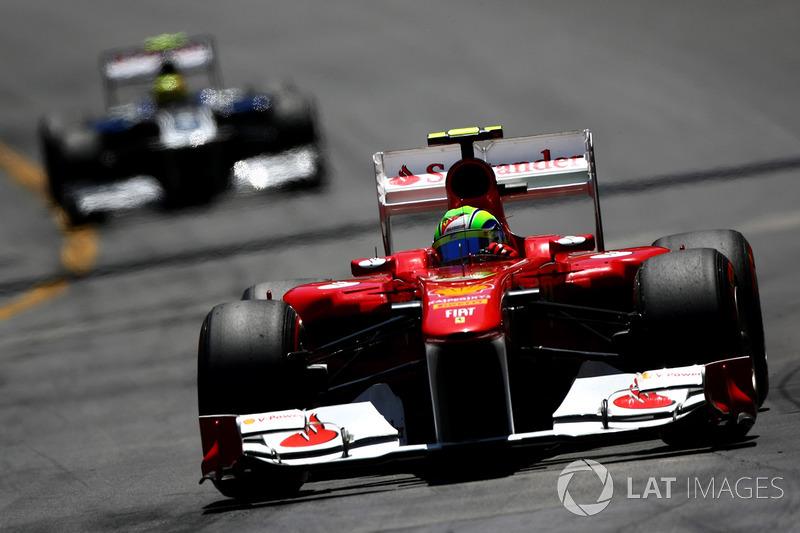 2011: Ferrari 150° Italia - 118 pontos, sexto colocado no Mundial de Pilotos
