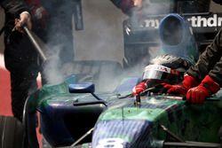 Rubens Barrichello, Honda RA107 abandonne