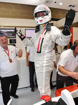 Stuart Codling, F1 Racing magazine journalist, F1 Experiences 2-Seater