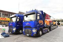 Scuderia Toro Rosso trucks