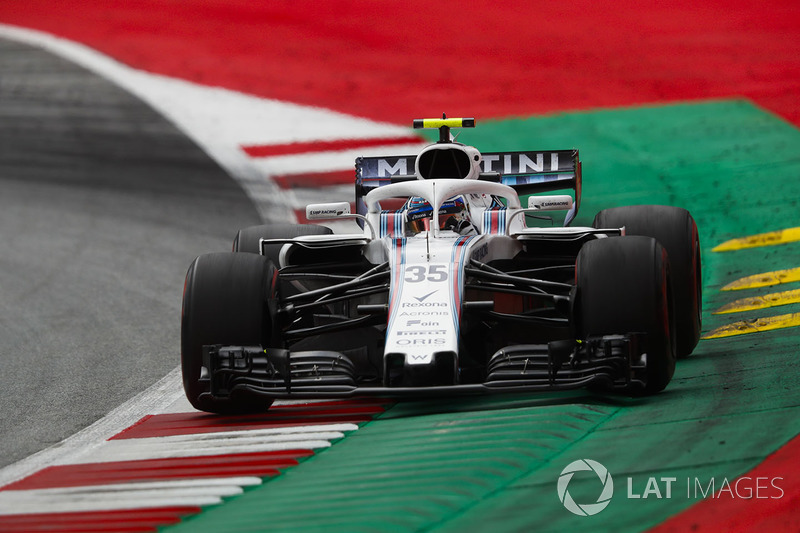 16: Sergey Sirotkin, Williams FW41, 1'05.322