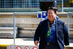 Takahiro Hachigo, President, Honda Motors
