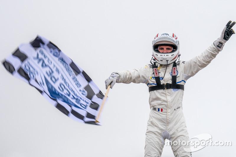 Le vainqueur #94 Romain Dumas, Volkswagen I.D. R Pikes Peak